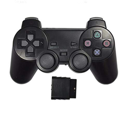 Wireless 2.4G Controller Gamepad 3 in 1 Joystick Wireless Controller for PS2 PlayStation ,Analog...