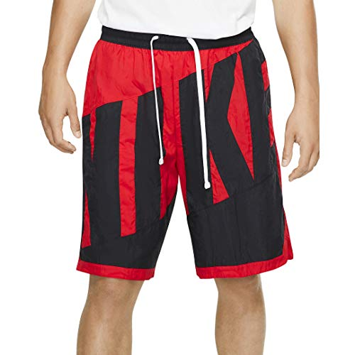 Nike Dri-FIT Throwback Basketball Shorts Size S (University Red)