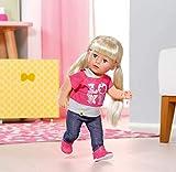 Zapf Creation 820704 BABY born Interactive Sister Puppe mit Funktionen XY cm - Baby Born