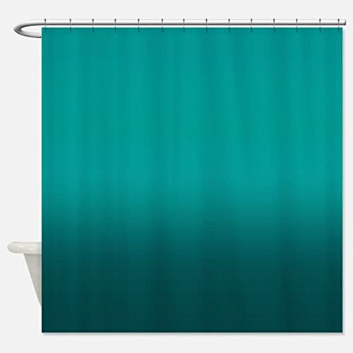 Shower Curtain 5 New Solid Water Repellant Bathroom Liner Clear Teal Colors