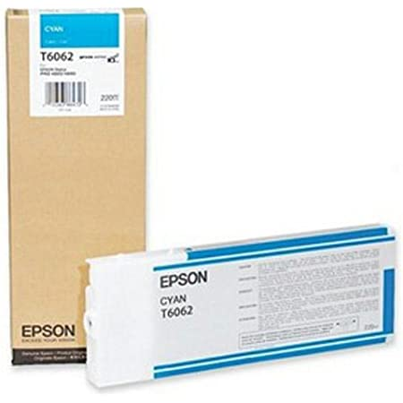Epson Cyan Ink Cartridge 220ML for Stylus Pro 4800/4880