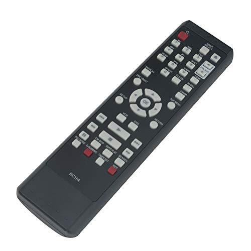 New - Remote Control NC184 NC184UH Compatible with Sanyo DVD Recorder FWZV475F