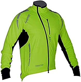 Zimco Pro Men Winter Cycling Jackets High Viz Bicycle Jersey Windproof Thermal Insulated Jacket