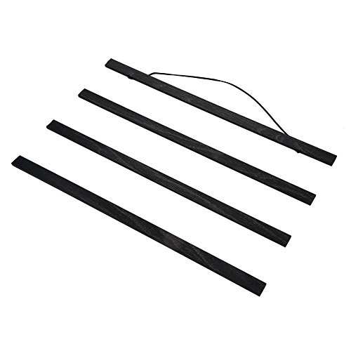 Magnética Madera Kit de Marco para Póster,DIY Póster Scroll Imprime la Obra de Arte Colgador de Pared para Posters,Impresiones,Fotos, Tela, etc.(21cm / 30cm / 40cm / 5cm / 60cm / 70cm / 80cm)(60cm)