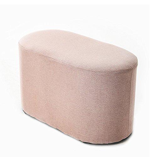 LJHA Tabouret pliable Repose-pieds simple créatif / tabouret de sofa de chaise longue / tabouret de salon de bande / tabouret de queue de lit de chambre à coucher / changement tabouret de chaussures (4 couleurs facultatives) chaise patchwork ( Couleur : B , taille : 60 cm )