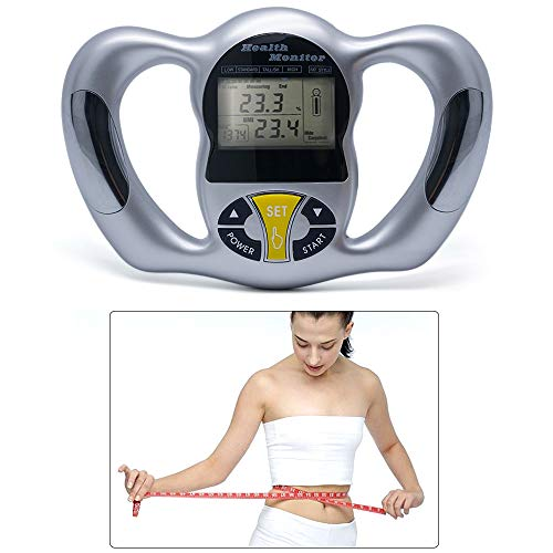 Best Bargain Wenje Wireless Portable Digital LCD Screen Handheld BMI Tester Body Fat Monitors Health...