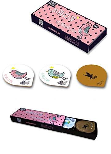 Ultra-Thin Hyaluronzuur Condom, natuurlijke latex materiaal, individueel verpakt effectief te Delay Sexual Life 1 × 54PCS