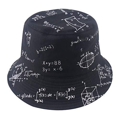 Reversible Black White Pattern Bucket Hats Fisherman Caps For Women Gorras Summer-function