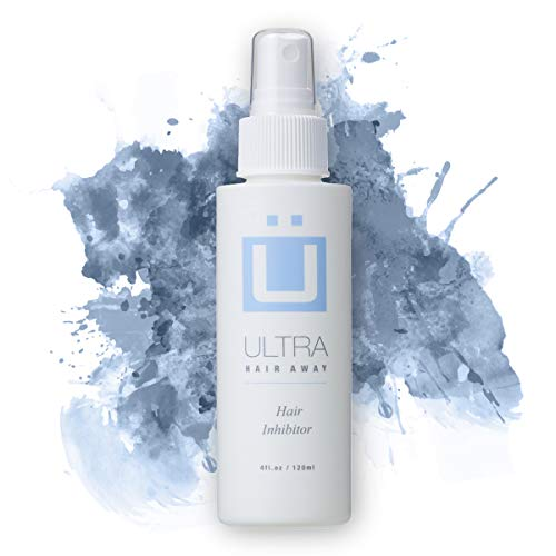 Ultra Hair Away (2 ~ 4 fl.oz. Bottles) Hair Inhibitor - Permanent Hair Remover -