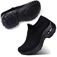 Easy on, easy off sneaker is hassle free. Air cushion sole enhances walking comfort and fit. Breathable mesh fabric upper offers superior comfort. Soft fabric lining reduces irritation, solid rubber outsole develops an unmatched grip on any surface. ...