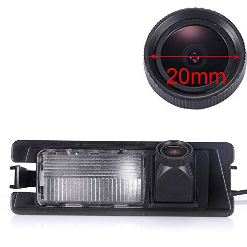 Telecamera per retromarcia Impermeabilità 170 Gradi Grandangolo Telecamera Posteriore per Nissan Micra K12/Micra K13/Nissan March/Renault Pulse/Renault Logan Sedan