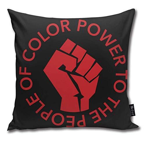 IUBBKI Liberation Throw Pillow Covers 18 X 18 Pulgadas (45 X 45 cm) para sofá Cama Casa de Campo Navidad Decoración para el hogar