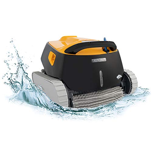 DOLPHIN Triton PS Automatic Robotic Pool Cleaner with Extra-Large Filter Basket and Superior Scrubbing Power, Ideal for In-ground...