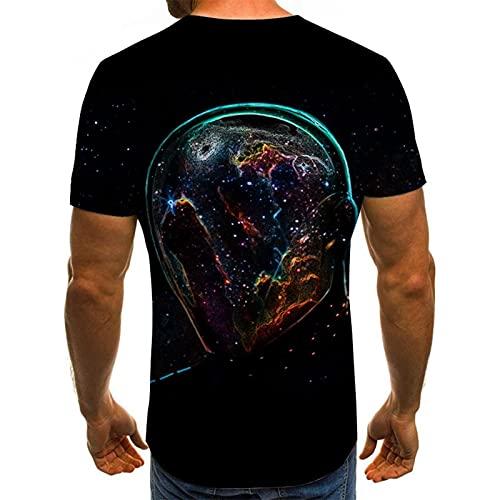 SSBZYES Camiseta De Verano para Hombre Camiseta De Manga Corta para Hombre Camiseta De Cuello Redondo para Hombre Camiseta con Estampado De Gran Tamaño Camiseta De Manga Corta para Pareja