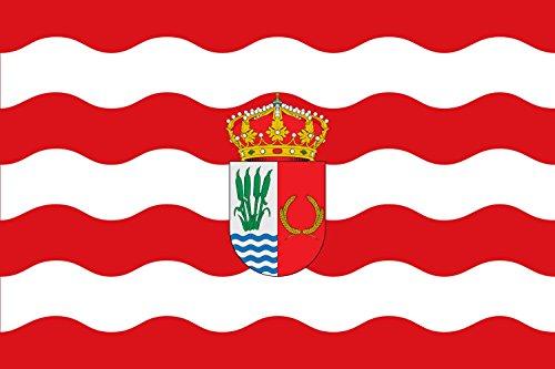 magFlags Bandera Large Municipio de Yuncler Castilla-La Mancha | Bandera Paisaje | 1.35m² | 90x150cm