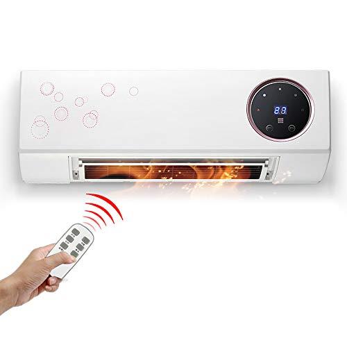 Calentador de baño, baño de Pared, doméstico, Calentamiento rápido de Alta Potencia de 2000 W, Control Remoto