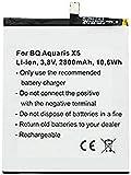 Batterie Compatible pour BQ Aquaris X5 2900 avec 3,8 V 2800