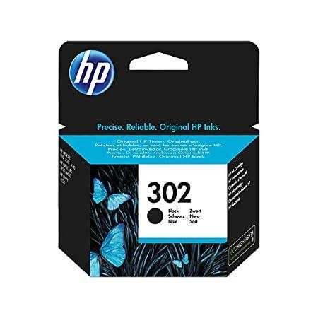 HP - Original-Tintenpatrone F6U66AE, HP 302, für HP Deskjet 1110 - Schwarz, Kapazität: ca. 190 Seiten / 5%, Farbe (01) 1 x Tintenpatrone