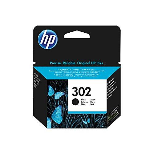 HP Cartouche d'encre d'origine F6U66AE HP 302 HP302 pour HP Deskjet 1110 (Noir) 190 Pages / 5% Couleur (01) 1 Cartouche d'encre - Noir