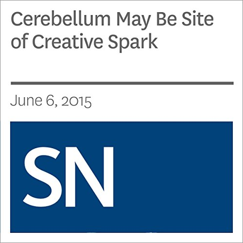 『Cerebellum May Be Site of Creative Spark』のカバーアート