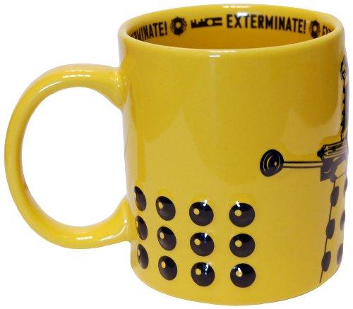 Doctor Who Dalek 2D Mug (Yellow) by Underground Toys
