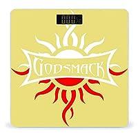 ゴッドスマック Godsmack2 体重計 デジタル 電子スケール ヘルスメーター 電源自動ON/OFF バックライト付き 高精度ボディースケール コンパクト 電池式 薄型 収納便利 体重管理