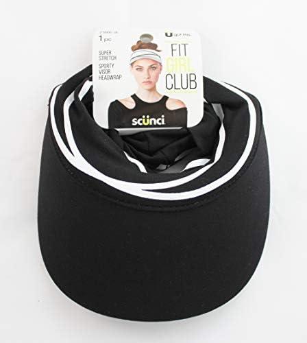 Scunci Sporty Visor Headwrap product image