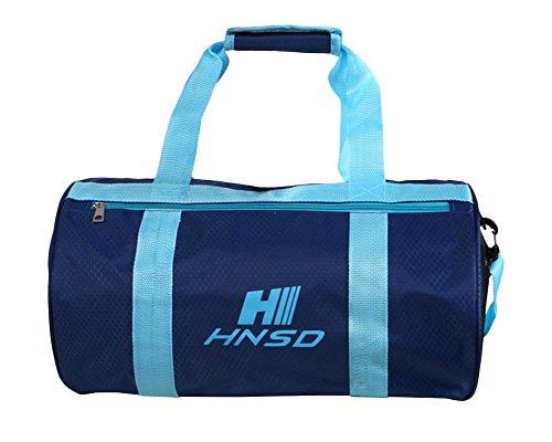 Unisex Wasserdichte Aufbewahrungtasche Trocken Nass Getrennt Schwimmtasche Reißverschluss Handtasche Umhängetasche Sport Strand Tasche Marine Einheitsgröße