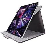 エレコム iPad Pro 12.9 第5世代 2021年用 フラップケース ソフトレザー 360度回転 ブラック TB-A21PL360BK