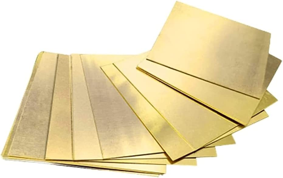lovediyxihe Max 63% OFF Metal Copper foil Pure Don't miss the campaign 10 Sheet 1 Pieces