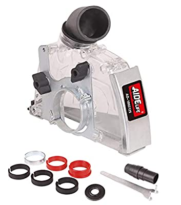 Aidelife Dust collecting Guard,Cutting Dust Shroud for Angle Grinders 4-1/2 inch to 5 inch