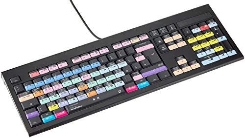 LogicKeyboard LKB-PSO3-AMBH-DE Presonus Studio One 3 Astra BL Tastatur Schwarz/Lila/Blau/Gelb/Rosa