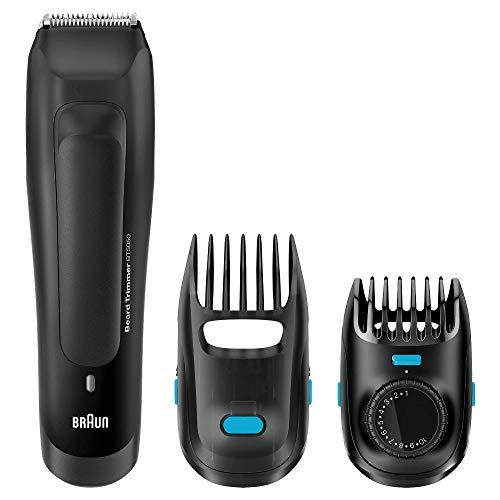 Braun Bartschneider BT5050 Ultimative Präzision für den perfekten Bartstyle mit einer Abstufungsgenauigkeit von 0,5 mm, schwarz