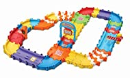 TOOT-TOOT DRIVERS TRACK SET: This interactive track set includes 46 interchangeable pieces, 3 fun accessories, a start and finish line and 2 connecting sections that are compatible with all Toot-Toot Drivers car sets EDUCATIONAL MUSICAL TOY: This tra...