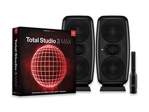 IK Multimedia Total Studio 3 Max & iLoud MTM Bundle 音楽制作ソフトウェア・スイート&モニタースピーカーバンドル【国内正規品】