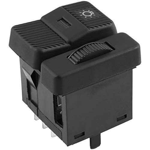 interruptor de faro de automóvil, Interruptor de la linterna del coche para V-W Pa-ssat B3 B4 Po-lo Transporter Euro-van