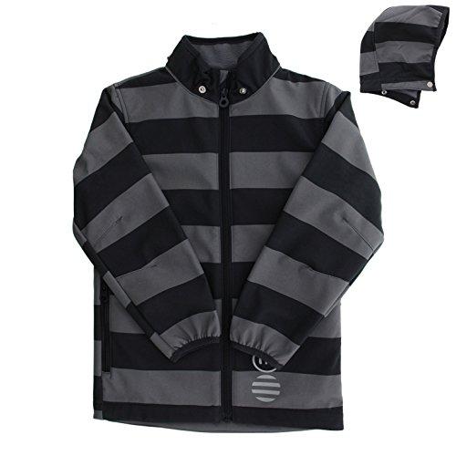 MINYMO Kinder Softshell-Jacke für Jungen, Alter: ab 2 Jahren, Größe: 92, Farbe: Blau/Grau (Tradewinds), 160312