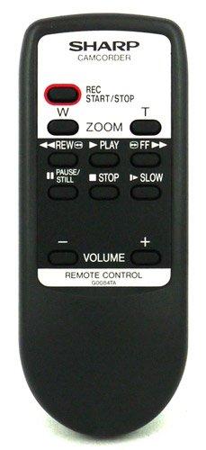 Sharp cg0084ta g0084ta rrmcg0084tasa Fernbedienung für Sharp Camcorder–Mit zwei 121AV AAA Batterien im Lieferumfang enthalten.