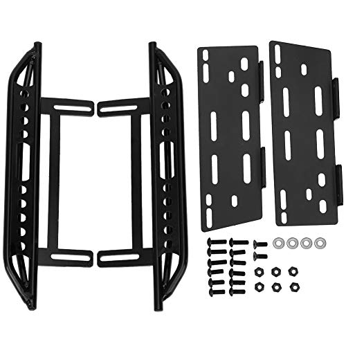 Pedale Laterale in Metallo per Auto RC Pedana Laterale in Metallo Compatibile con Axial SCX10 II 90046 Crawler 1/10