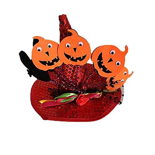 OULII Chapeau de sorci/ère pour les enfants Sorci/ère Chapeau Accessoire D/éguisement Enfants Pour Halloween