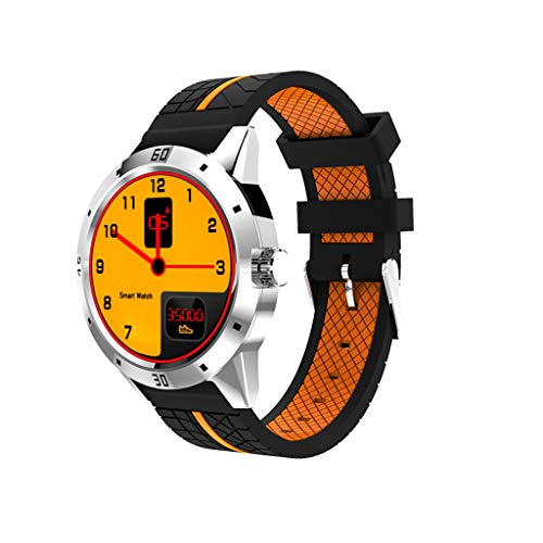 JingJingQi smart watch N6 GPS Smart Watch Man Android 1.3inch TFT Bluetooth4.0 Sleep Monitor hartslag Met Facebook Twitter whatsapp