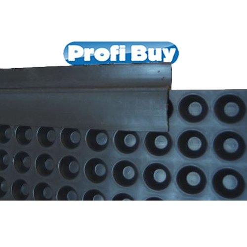 Abschlussprofil PVC für Grundmauerschutz   20 x 2m Elemente VE = 40m