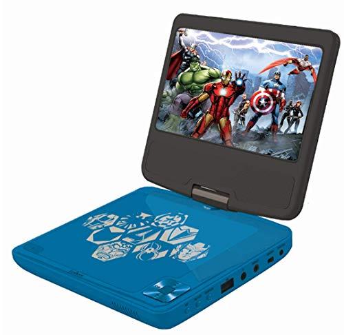 Lexibook - DVDP6AV - Lecteur DVD Portable Avengers