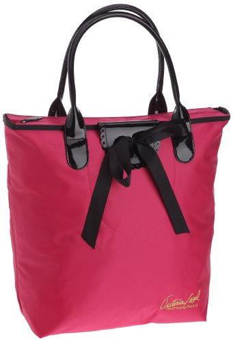 Victoria Casal Couture Cabas Vertical, Bolso Tote para Mujer, Framboise, Talla única
