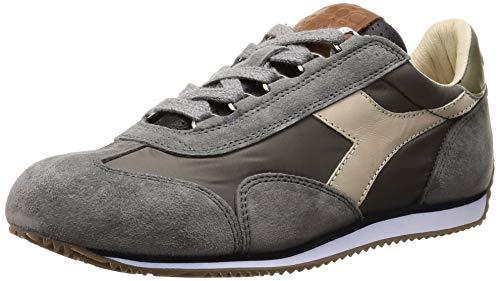 Diadora Heritage, Uomo, Equipe ITA, Suede/Nylon, Sneakers, Grigio, 43 EU