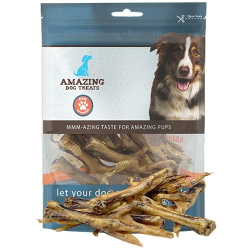 Chicken Feet Dog Treats (25 Count) - [Made in USA] - All Natural Chicken Feet for Dogs American Grade Chicken Feet Dog Chew Bones