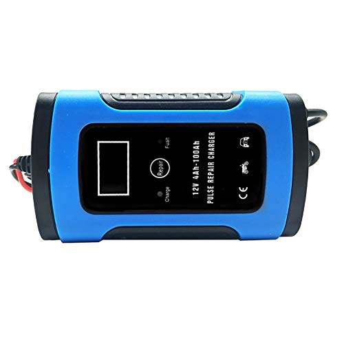 Sale!! SCYDAO Car Battery Charger Smart 12V/6A LCD Motorcycle Battery Charger Charges, Maintains and...