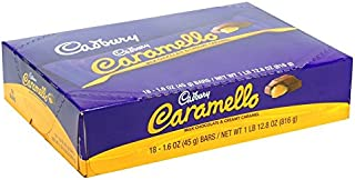 Caramello, Milk Chocolate With Caramel, Count 18 (1.6 oz) - Chocolate Candy / Grab Varieties & Flavors
