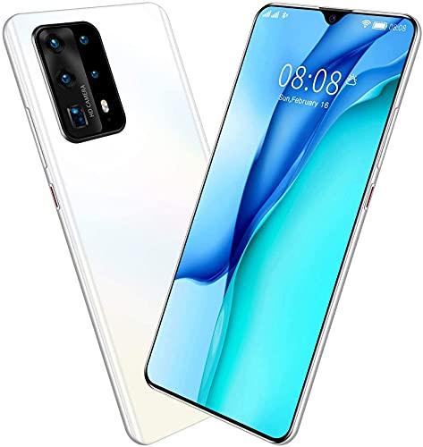 YGXR Smartphone sin Contrato 7.0 Pulgadas 4G Smartphone 128GB ROM 5800mAh Batería, cámara de 24MP, teléfono móvil con Doble SIM Android 10.0 , con Tarjeta de Memoria de 128G, Auriculares