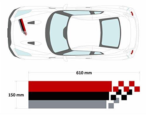 Nismo Nissan 350Z Skyline GTR Auto Aufkleber Graphic Stripe (SS20007)